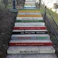 A budavári lépcsők is ünneplik a nőket