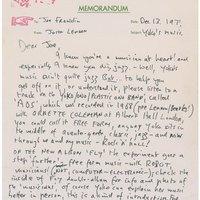 Elárverezték John Lennon kézzel írott levelét