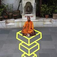 Levegőbe emelkedett egy indiai szent
