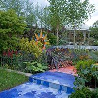 Pszichedelikus kert George Harrisonnak