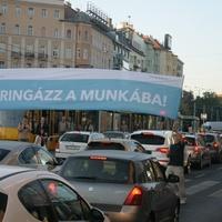 A kampányolók megszállták a Széna teret