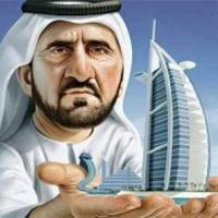Dubaj ura álnéven írt verseket