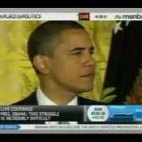 Kacsahápogás zavarta meg Obama beszédét