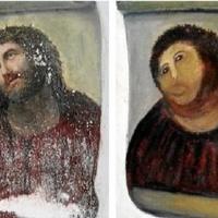 Gerillarestaurátor nyugdíjas tett tönkre egy értékes freskót