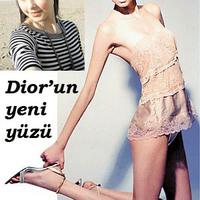 Baskír szépség a Dior új arca