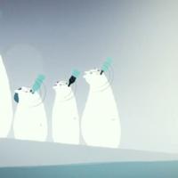 Kövér jegesmedvék harcolnak az üdítők ellen