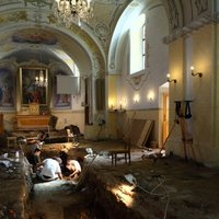Árpád-kori szentély maradványaira bukkantak Visontán