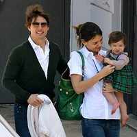 Tom Cruise és Katie Holmes meghitten ünnepelt