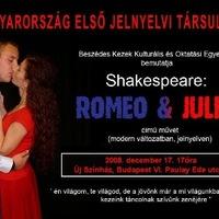 Rómeó és Júlia jelnyelven az Új Színházban