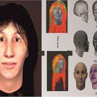 Szenzációs kép terjed a 7000 éves nőről