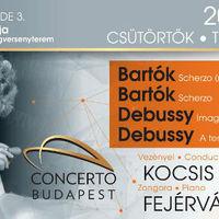 Bartók és Debussy a Concerto Budapesttel