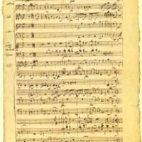 Eredeti Mozart és Haydn partitúrák lenyomatai mindenkinek