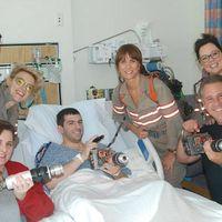 Világsztárok okoztak meglepetést a kórházban