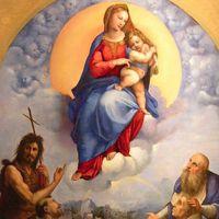 Raffaello festménye elhagyja a Vatikánt