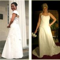 Vécépapírból varrt esküvői ruhában is szép lehet a menyasszony