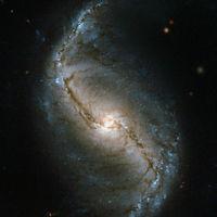 Spirálgalaxist fotózott a Hubble