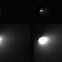 Lencsevégre kapták az üstököst