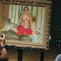 Hazatért a lopott Matisse-kép
