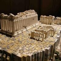 Elkészült az Akropolisz miniatűr mása