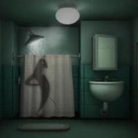 Pisilj a zuhany alatt