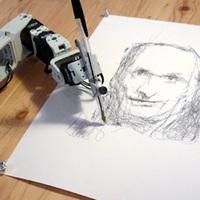 A robot, amelyben művészlélek lakozik