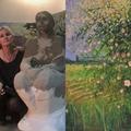 A természetből merítik erejüket Makovecz Anna festményei
