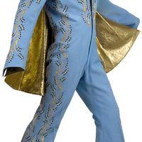 Elvis királykék fellépőruhája eladó!