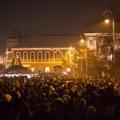 Többezer ember ünnepelt együtt Sepsiszentgyörgy főterén