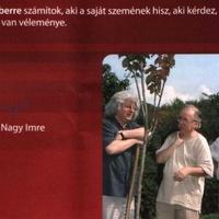Esterházy Péterrel kampányolnak, az író tiltakozik