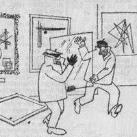Divatrajzok és divatot szurkáló karikatúrák