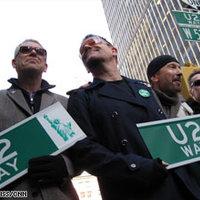 Utcát neveztek el a U2-ról