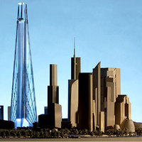 Mégsem épül 612 méteres felhőkarcoló a fővárosban