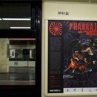 Ilyet még nem láttunk a budapesti metróban!