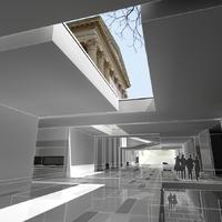 Hárommilliárdos üvegkocka és föld alatti múzeum