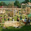 Így épült fel egy hét alatt a magyar falu