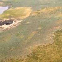 Óriási kráterek Szibériában