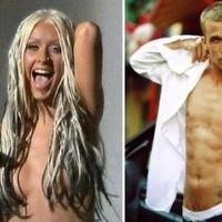 Ez ám a börleszk: Aguilera az Alkonyat férfisztárjával!
