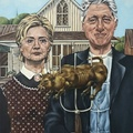 Meztelen képek kerültek elő Hillary Clintonról