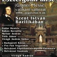 Liszt Esztergomi miséje a Szent István-bazilikában