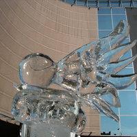 Jégszobrokkal a klímaváltozás ellen