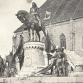 Titkos üzenet a kolozsvári Mátyás szobor gyomrában