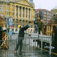 Lenyűgöző látvány az Erzsébet téren
