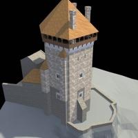 Átadták esztergomi királyi vár lakótornyát