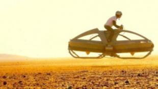 Megépítették a Star Wars lebegő robogóját