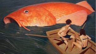 Gigantikus haltetem rémisztette meg a csónakázókat