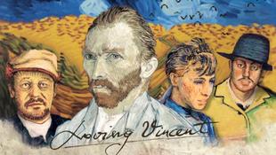 Életre keltek van Gogh képei