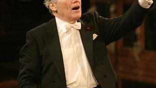 Georges Pretre vezényli a 2010-es bécsi újévi koncertet