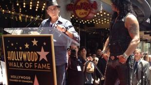 Slash is kapott csillagot Hollywoodban