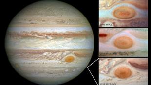 Zsugorodik a Jupiter vörös foltja