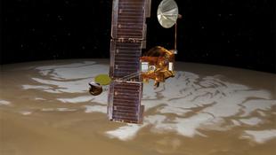 Meghibásodott a Mars körül keringő műhold